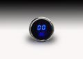 Intellitronix ~ LED Oil Pressure Gauge in Chrome Bezel - Blue