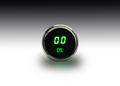 Intellitronix ~ LED Oil Pressure Gauge in Chrome Bezel - Green