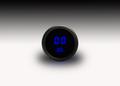 Intellitronix ~ LED Oil Pressure Gauge in Black Bezel - Blue