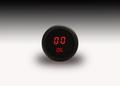 Intellitronix ~ LED Oil Pressure Gauge in Black Bezel - Red