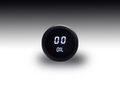 Intellitronix ~ LED Oil Pressure Gauge in Black Bezel - White