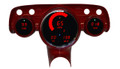 Intellitronix ~ 57 Chevy Bel Air Digital Direct Fit Panel - Red