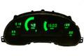 Intellitronix ~ 94-04 Ford Mustang LED Digital Gauge Panel  - Green