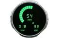 Intellitronix ~ Jeep 55-86 LED Digital Gauge Panel - Green