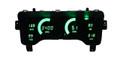 Intellitronix ~ Jeep 97-06 TJ LED Digital Gauge Panel - Green