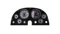 Intellitronix ~ 63-67 Corvette 3D Analog Gauge Panel - White