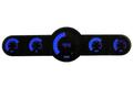 Intellitronix ~ 5.5 Gauge Universal Analog Bar Graph Panel - Blue