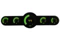 Intellitronix ~ 5.5 Gauge Universal Analog Bar Graph Panel - Green