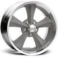 Rocket Racing Wheels Rocket Booster Gray Wheel ~ Free Standard Lug Nuts