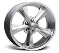 Rocket Racing Wheels Rocket Booster Hyper Silver Wheel ~ Free Standard Lug Nuts