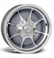 Rocket Racing Wheels Rocket Fire Gray Painted / Machined Wheel ~ Free Standard Lug Nuts
