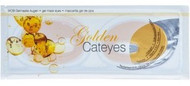 "Gel Mask Golden ""Cateyes"", 1 unit"