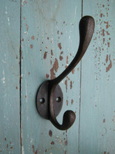 Victorian Swan Cast Iron Coat Hook