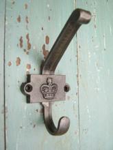 Coat Hook Crown Cast Iron