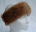 Light Brown Faux Fur Headband