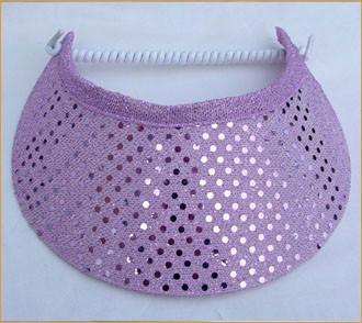 Lilac Sequin Flexi Visor - Hats and Visors by Sunwiser 7477dbed6192