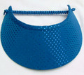 Electric Blue Sparkly Jumbo Peak Flexi Visor