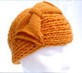Amber Acrylic Knitted Headband