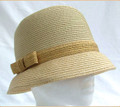 Downton Style Straw Hat