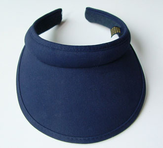 Navy Clip On Visor - Hats and Visors by Sunwiser dc619e8a9f19