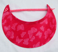 Fuchsia Two Tone Butterfly Jumbo Peak Flexi Visor