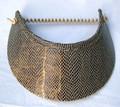 Bronze Snake Design Jumbo Peak Flexi Visor