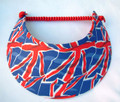 Union Jack Abstract Jumbo Flexi Visor