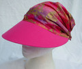 Fuchsia with Gold Butterfly, Sundanna, with elasticated back.