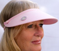 Pink Jumbo Flexi Visor with Ball Marker