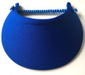 Electric Blue Jumbo Flexi Visor