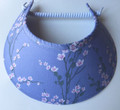 Oriental Flowers on Lilac Jumbo Peak Flexi Visor