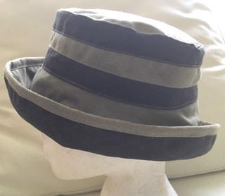 bd9c49c0af4b4c Soft Green/Khaki & Brown Wax Hat - Hats and Visors by Sunwiser
