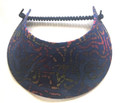 Navy Batik Mix Jumbo Peak Flexi Visor