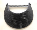 Grey with Sparkly Stud Jumbo Peak Flexi Visor