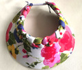 Floral Out Of Africa Plaited Flexi Visor