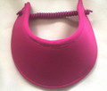 Fuschia Foam Flexi Visor