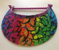 Rainbow Butterflies Foam Flexi Visor