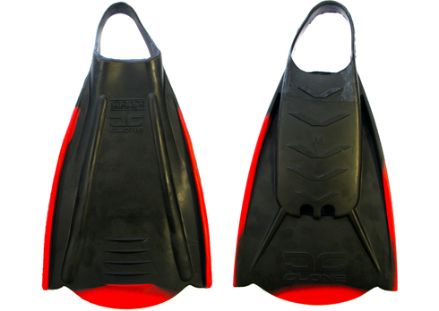 Manta Clone swimfins. Wide, comfy footpockets. Rigid rail system and front blade section give superior propulsion.