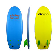 "Elnino Scorcher Twin Fin 44"" Mini Softboard"