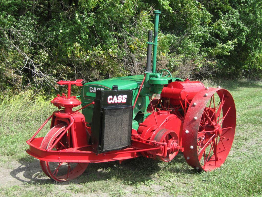 1918 J.I. CASE 10-20 cross motor
