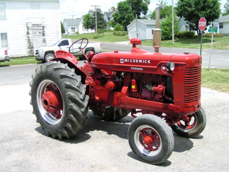 McCormick W6 Tractor