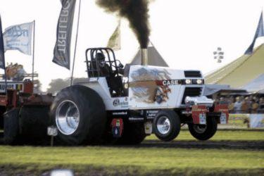 White Crow Europian Pulling Tractor