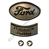 ER- 9N16600 Ford Hood Emblem - 2 PC