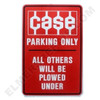 CA001PARK Case Tractors Parking Sign