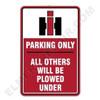 IH002PARK   IH Parking Sign