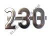 Farmall 230 Side Emblem
