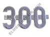 ER- 362396R1 Farmall 300 Side Emblem