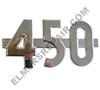 ER- 366680R1 Farmall 450 Side Emblem