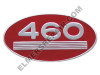ER- 369119R1 460 Gas Oval Side Emblem