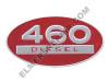 ER- 369121R1 460 Diesel Oval Side Emblem